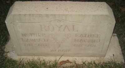 ROYAL, MACON J. - Ashley County, Arkansas | MACON J. ROYAL - Arkansas Gravestone Photos