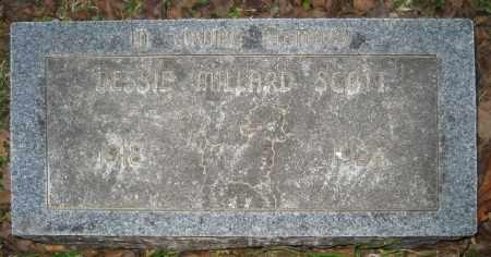 MILLARD SCOTT, DESSIE - Ashley County, Arkansas   DESSIE MILLARD SCOTT - Arkansas Gravestone Photos