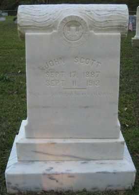 SCOTT, JOHN - Ashley County, Arkansas   JOHN SCOTT - Arkansas Gravestone Photos