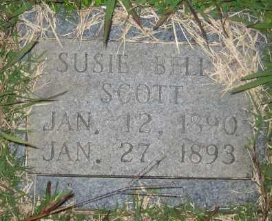 SCOTT, SUSIE BELL - Ashley County, Arkansas | SUSIE BELL SCOTT - Arkansas Gravestone Photos