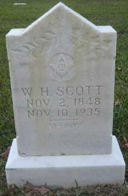 SCOTT, W. H. - Ashley County, Arkansas | W. H. SCOTT - Arkansas Gravestone Photos