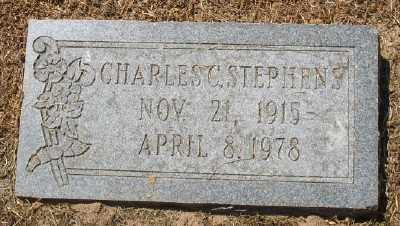 STEPHENS, CHARLES C. - Ashley County, Arkansas   CHARLES C. STEPHENS - Arkansas Gravestone Photos