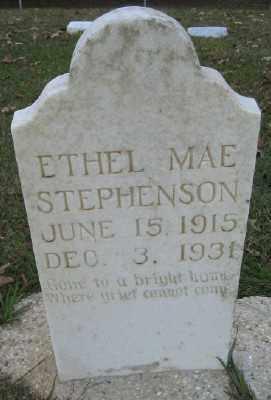 STEPHENSON, ETHEL MAE - Ashley County, Arkansas   ETHEL MAE STEPHENSON - Arkansas Gravestone Photos