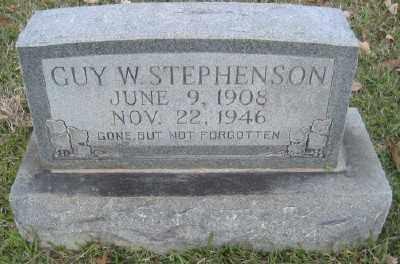 STEPHENSON, GUY W. - Ashley County, Arkansas | GUY W. STEPHENSON - Arkansas Gravestone Photos