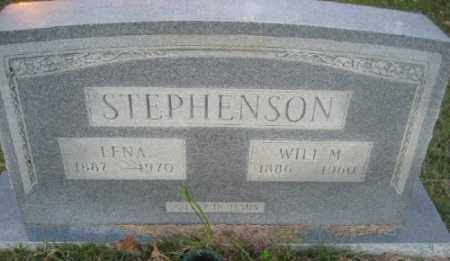 STEPHENSON, WILL M. - Ashley County, Arkansas | WILL M. STEPHENSON - Arkansas Gravestone Photos