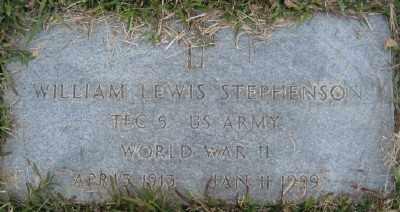 STEPHENSON (VETERAN WWII), WILLIAM LEWIS - Ashley County, Arkansas   WILLIAM LEWIS STEPHENSON (VETERAN WWII) - Arkansas Gravestone Photos