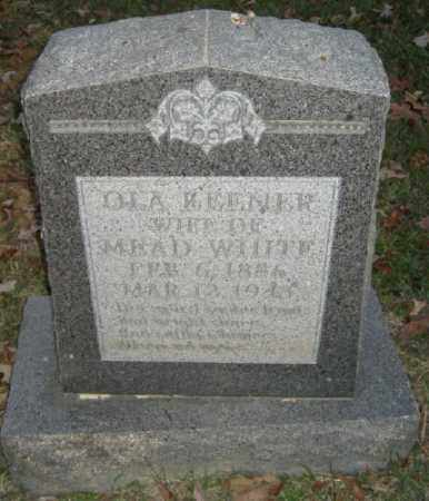 WHITE, OLA - Ashley County, Arkansas | OLA WHITE - Arkansas Gravestone Photos