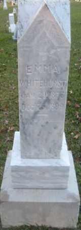 WHITEHURST, EMMA - Ashley County, Arkansas | EMMA WHITEHURST - Arkansas Gravestone Photos