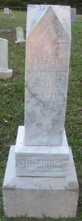 WHITEHURST, SUSAN - Ashley County, Arkansas   SUSAN WHITEHURST - Arkansas Gravestone Photos