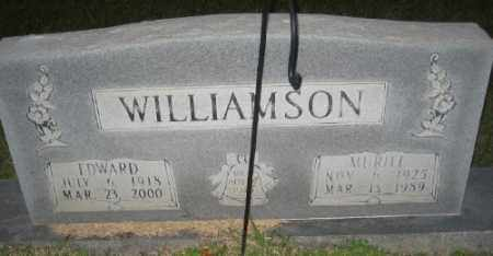 WILLIAMSON, EDWARD - Ashley County, Arkansas | EDWARD WILLIAMSON - Arkansas Gravestone Photos