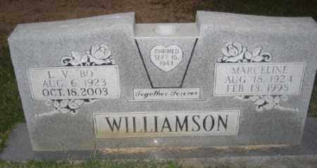 HOPKINS WILLIAMSON, MARCELINE - Ashley County, Arkansas | MARCELINE HOPKINS WILLIAMSON - Arkansas Gravestone Photos