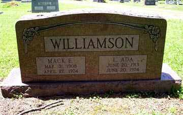 WILLIAMSON, MACK E. - Ashley County, Arkansas | MACK E. WILLIAMSON - Arkansas Gravestone Photos