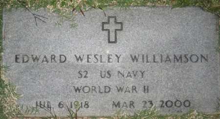 WILLIAMSON (VETERAN WWII), EDWARD WESLEY - Ashley County, Arkansas | EDWARD WESLEY WILLIAMSON (VETERAN WWII) - Arkansas Gravestone Photos