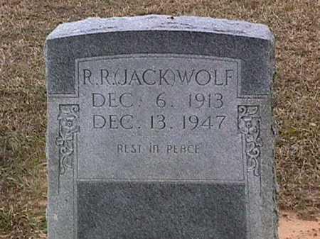 "WOLF, R R ""JACK"" - Ashley County, Arkansas | R R ""JACK"" WOLF - Arkansas Gravestone Photos"