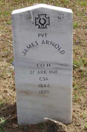 ARNOLD  (VETERAN CSA), JAMES - Baxter County, Arkansas | JAMES ARNOLD  (VETERAN CSA) - Arkansas Gravestone Photos
