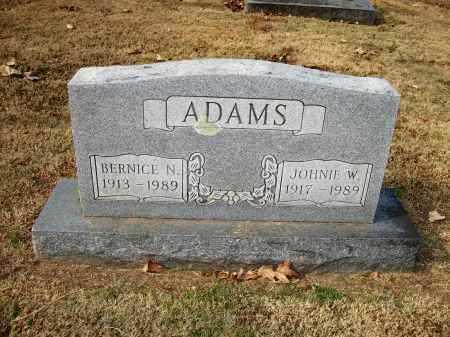 ADAMS, BERNICE N - Baxter County, Arkansas | BERNICE N ADAMS - Arkansas Gravestone Photos