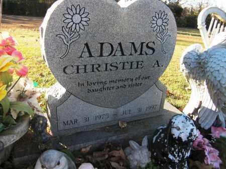 ADAMS, CHRISTIE A. - Baxter County, Arkansas | CHRISTIE A. ADAMS - Arkansas Gravestone Photos