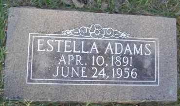 """ADAMS, ESTELLA ALICE """"STELLA"""" - Baxter County, Arkansas   ESTELLA ALICE """"STELLA"""" ADAMS - Arkansas Gravestone Photos"""