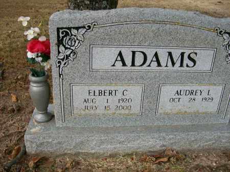 ADAMS, ELBERT C - Baxter County, Arkansas | ELBERT C ADAMS - Arkansas Gravestone Photos