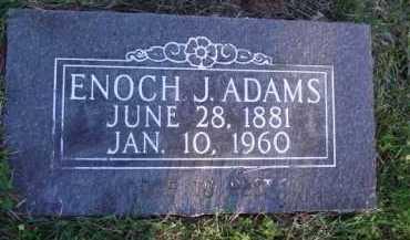 ADAMS, ENOCH JACKSON - Baxter County, Arkansas | ENOCH JACKSON ADAMS - Arkansas Gravestone Photos