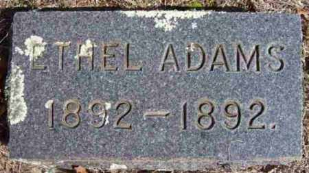 ADAMS, ETHEL - Baxter County, Arkansas | ETHEL ADAMS - Arkansas Gravestone Photos