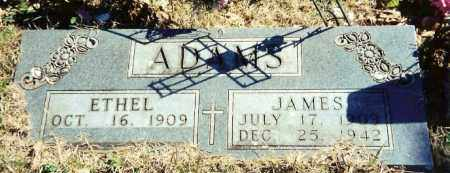 WOODS ADAMS, ETHEL - Baxter County, Arkansas | ETHEL WOODS ADAMS - Arkansas Gravestone Photos