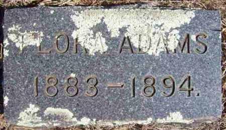 ADAMS, FLORA - Baxter County, Arkansas | FLORA ADAMS - Arkansas Gravestone Photos