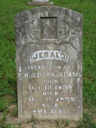 ADAMS, JERALD - Baxter County, Arkansas | JERALD ADAMS - Arkansas Gravestone Photos