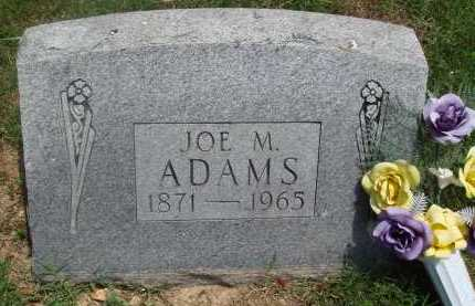 ADAMS, JOE M. - Baxter County, Arkansas | JOE M. ADAMS - Arkansas Gravestone Photos