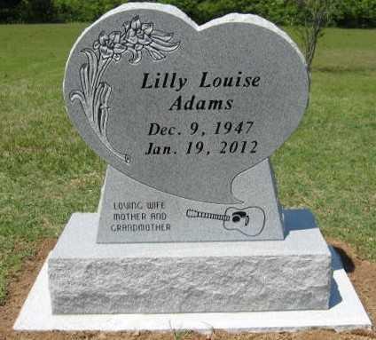 ADAMS, LILLY LOUISE - Baxter County, Arkansas | LILLY LOUISE ADAMS - Arkansas Gravestone Photos