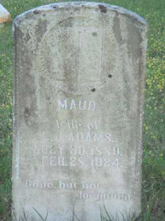 ADAMS, MAUD - Baxter County, Arkansas | MAUD ADAMS - Arkansas Gravestone Photos