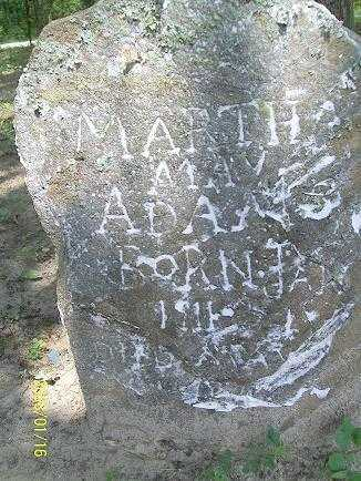 ADAMS, MARTHA MAY - Baxter County, Arkansas | MARTHA MAY ADAMS - Arkansas Gravestone Photos