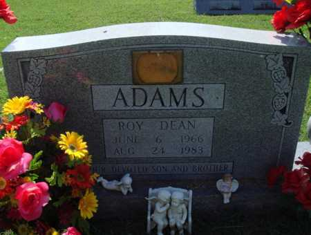 ADAMS, ROY DEAN - Baxter County, Arkansas   ROY DEAN ADAMS - Arkansas Gravestone Photos