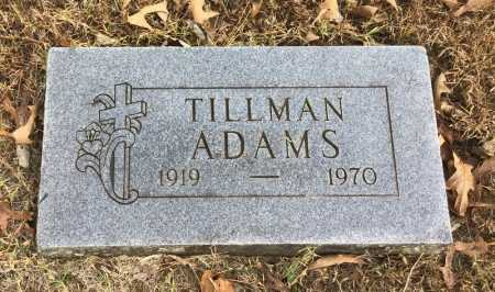 ADAMS, TILLMAN - Baxter County, Arkansas   TILLMAN ADAMS - Arkansas Gravestone Photos