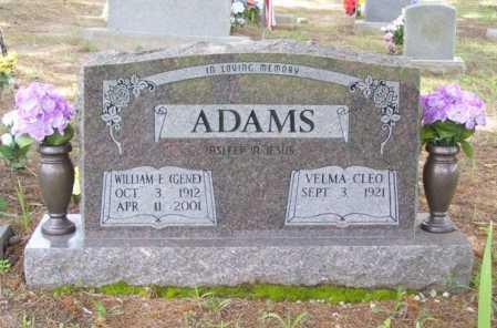 ADAMS, VELMA CLEO - Baxter County, Arkansas | VELMA CLEO ADAMS - Arkansas Gravestone Photos