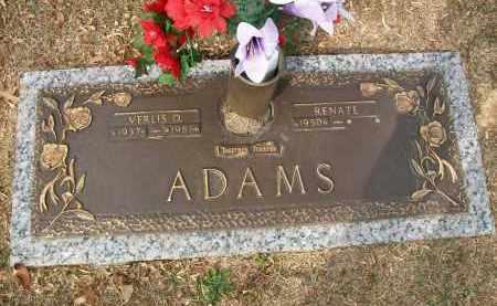 ADAMS, VERLIS D - Baxter County, Arkansas | VERLIS D ADAMS - Arkansas Gravestone Photos