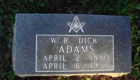 "ADAMS, W. R. ""DICK"" - Baxter County, Arkansas   W. R. ""DICK"" ADAMS - Arkansas Gravestone Photos"