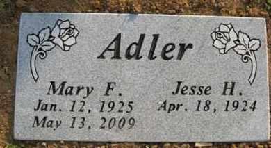 MILLER ADLER, MARY F. - Baxter County, Arkansas | MARY F. MILLER ADLER - Arkansas Gravestone Photos