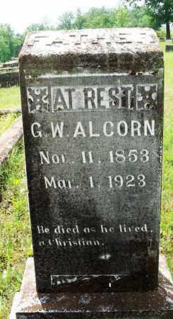 ALCORN, G W - Baxter County, Arkansas | G W ALCORN - Arkansas Gravestone Photos