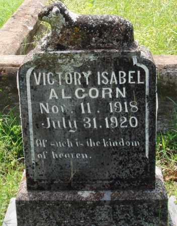 ALCORN, VICTORY ISABEL - Baxter County, Arkansas | VICTORY ISABEL ALCORN - Arkansas Gravestone Photos