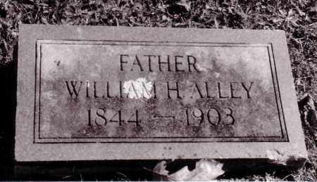 ALLEY (VETERAN), WILLIAM HENRY - Baxter County, Arkansas | WILLIAM HENRY ALLEY (VETERAN) - Arkansas Gravestone Photos