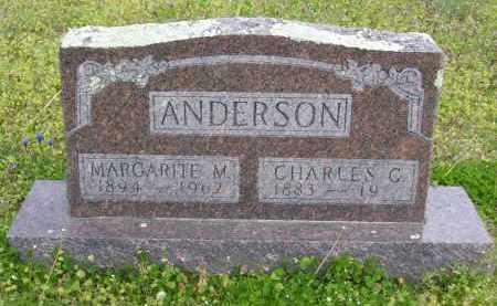 ANDERSON, CHARLES C. - Baxter County, Arkansas   CHARLES C. ANDERSON - Arkansas Gravestone Photos