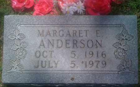 ANDERSON, MARGARET E. - Baxter County, Arkansas | MARGARET E. ANDERSON - Arkansas Gravestone Photos