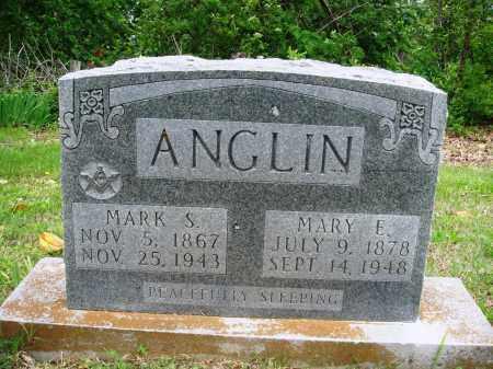 ANGLIN, MARK S - Baxter County, Arkansas | MARK S ANGLIN - Arkansas Gravestone Photos