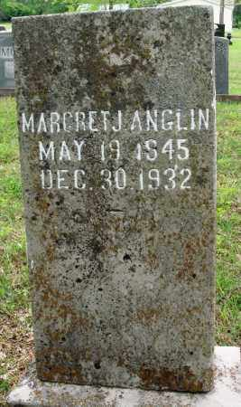 ANGLIN, MARGRET J - Baxter County, Arkansas   MARGRET J ANGLIN - Arkansas Gravestone Photos