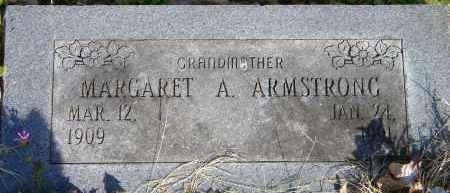 ARMSTRONG, MARGARET A - Baxter County, Arkansas | MARGARET A ARMSTRONG - Arkansas Gravestone Photos