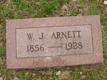 ARNETT, W. J. - Baxter County, Arkansas | W. J. ARNETT - Arkansas Gravestone Photos