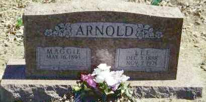 WOODS ARNOLD, MAGGIE - Baxter County, Arkansas | MAGGIE WOODS ARNOLD - Arkansas Gravestone Photos