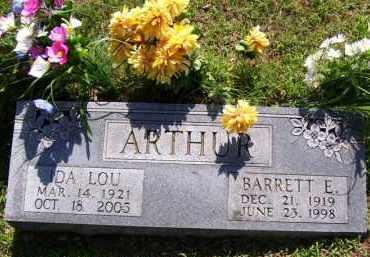 ARTHUR, BARRETT ELLSWORTH (OBIT) - Baxter County, Arkansas | BARRETT ELLSWORTH (OBIT) ARTHUR - Arkansas Gravestone Photos