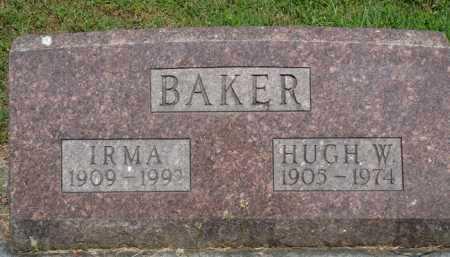 BAKER, HUGH W. - Baxter County, Arkansas | HUGH W. BAKER - Arkansas Gravestone Photos